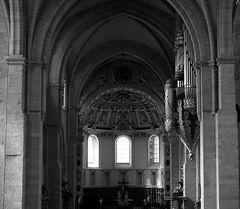 Trierer Dom - Blick zum  Westchor