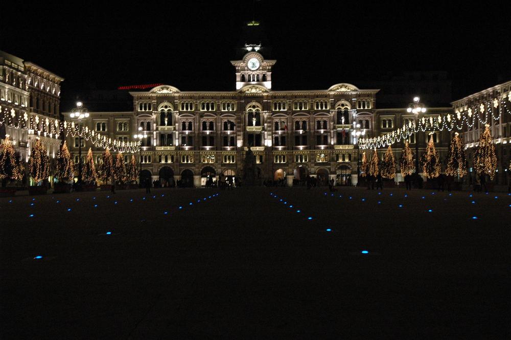 Trieste Natale Immagini.Trieste Natale In Piazza Dell Unita D Italia Foto Immagini