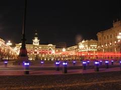 Trieste _Piazza dell'unità d'Italia