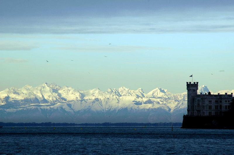 Trieste - sul mare e tra i monti