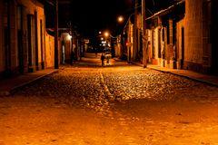 Trinidad de Cuba bei Nacht