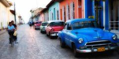 Trinidad - Streetart, Farbe