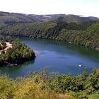 Trinkwasser Talsperre bei Esch sur Sure (Sauer)