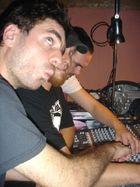 Trio am DJ-Pult