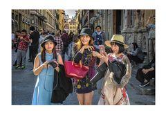 Trio di ragazze cinesi