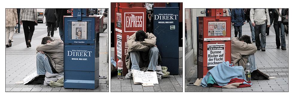 Triptychon zur sozialen Lage