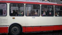triste Busfahrt