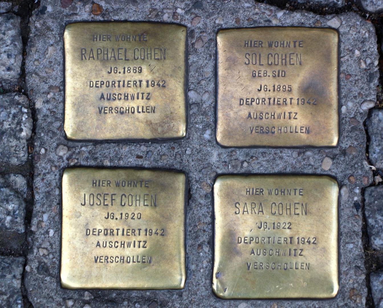 Triste ricordo delle deportazioni naziste....