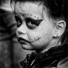 Tristesse d'une petite sorcière.