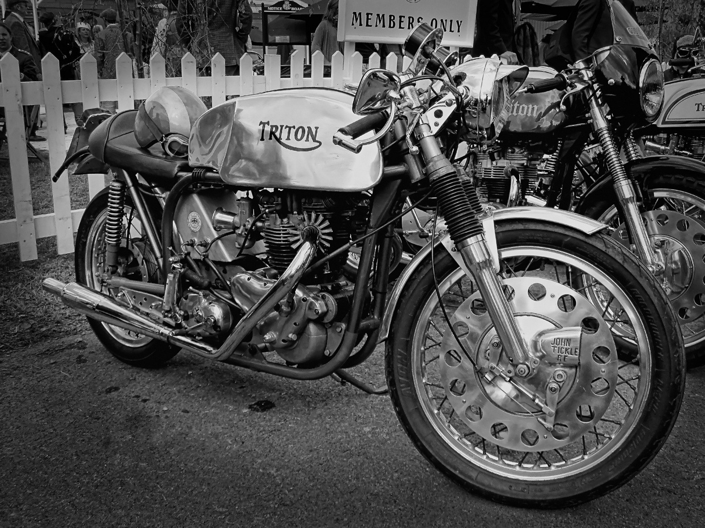 Triton Cafe Racer Motorcycle - Goodwood