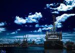 Triton im Büsumer Hafen