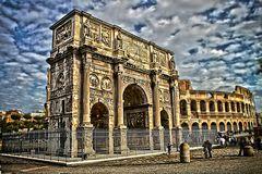 Triumpfbogen - Arco di Constantino