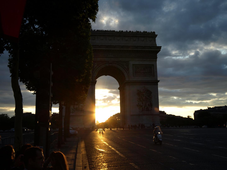 Triumpfbogen Paris