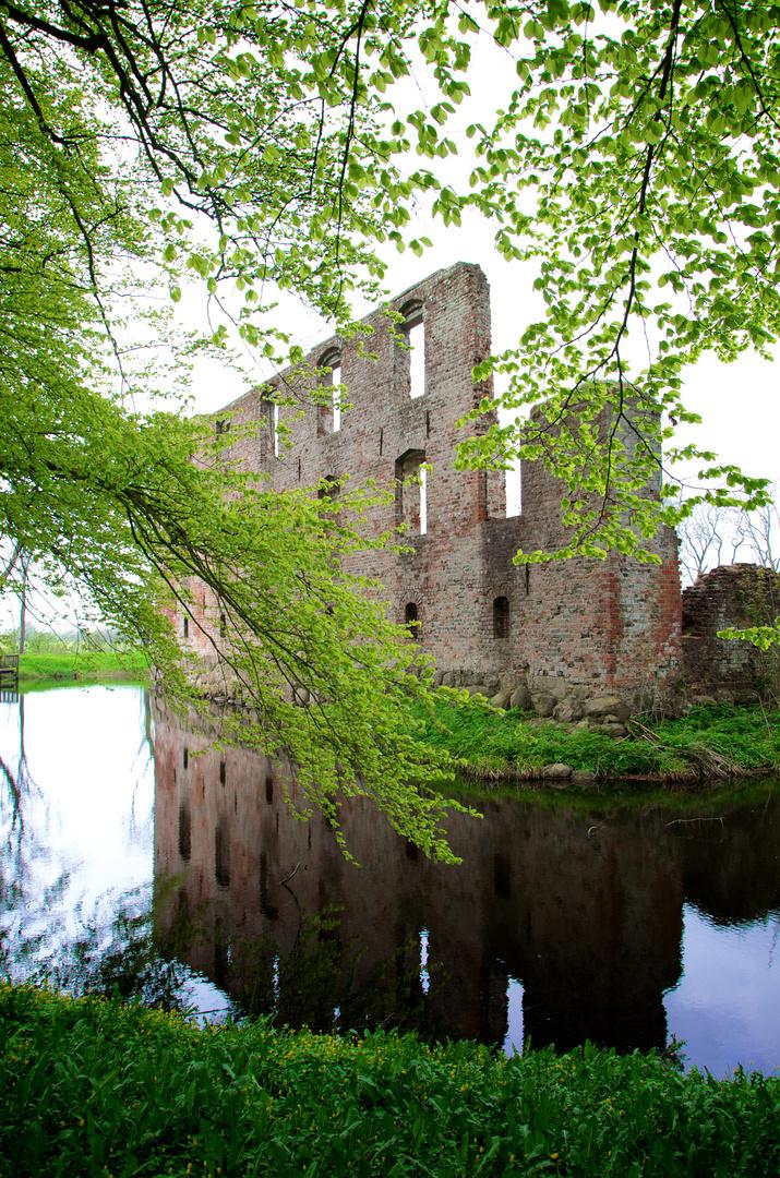 Trøjborg Castel Ruins, Tønder, Dk