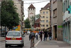 ... trockener Innenstadtbummel in Basel ...