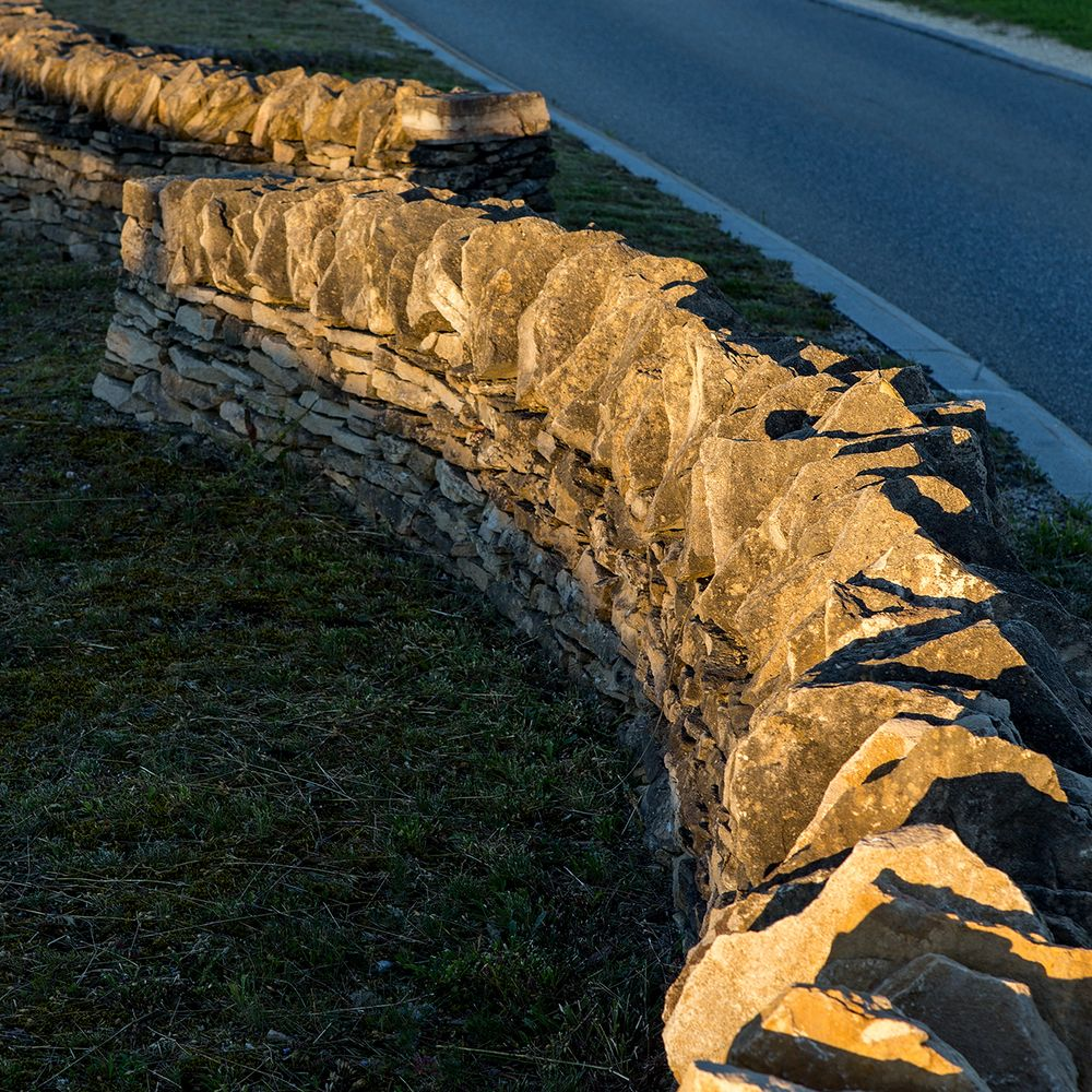 Trockensteinmauer