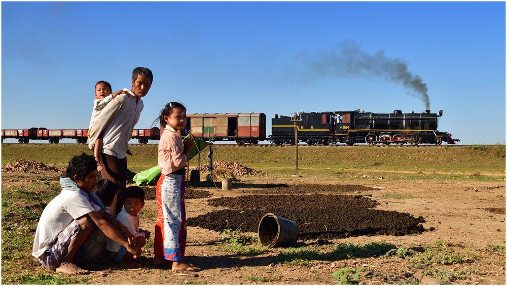 Trockenzeit in Burma III