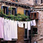 trocknende Wäsche