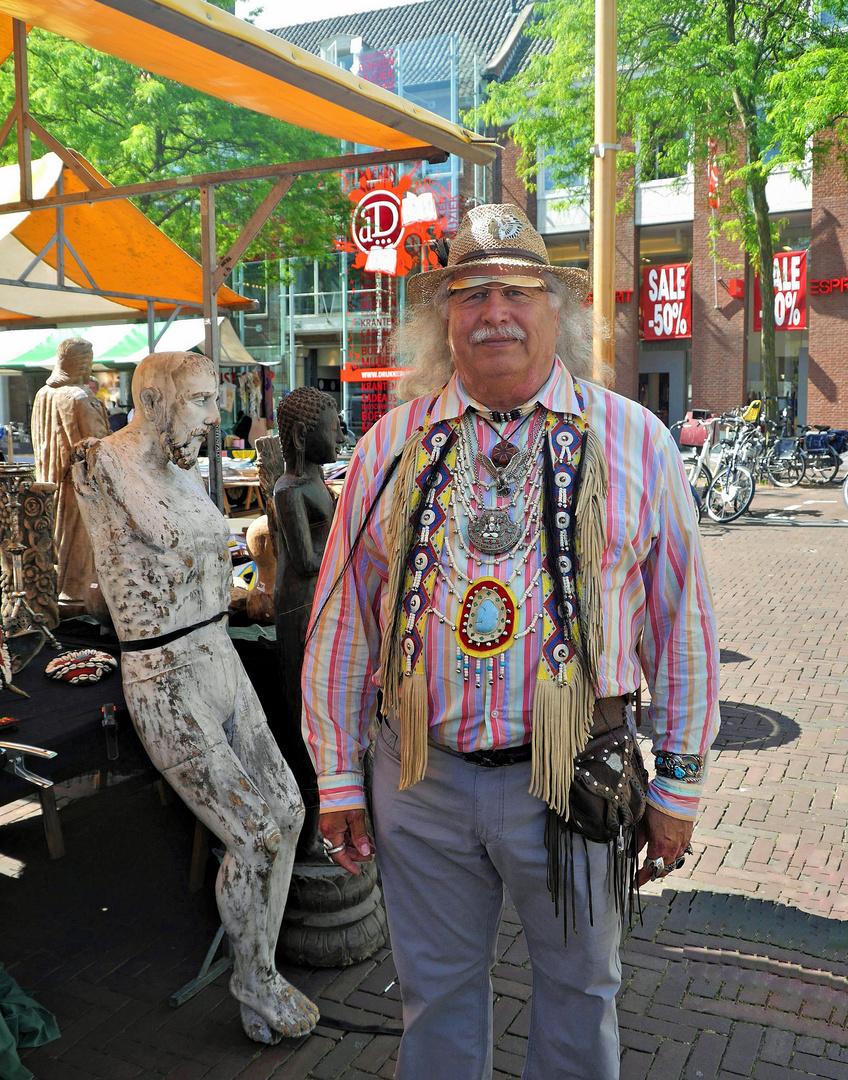 Trödelmarkt in Middelburg