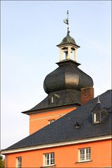 Troisdorf: Teilansicht Burg Wissem