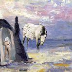 Troja, Hellena und ein Pferd...