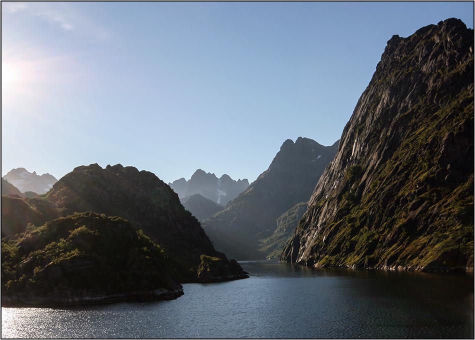 Trollfjord im September