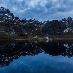 Trollfjord um 23.40 uhr