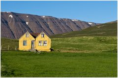 Trollhaus in Tröllaskagi