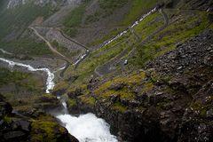 Trollstigen II - Die Auffahrt beginnt