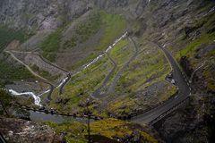 Trollstigen III - Weiter gehts hinauf