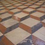 Tromp d'oeil Fußboden- Kathedrale, Sevilla