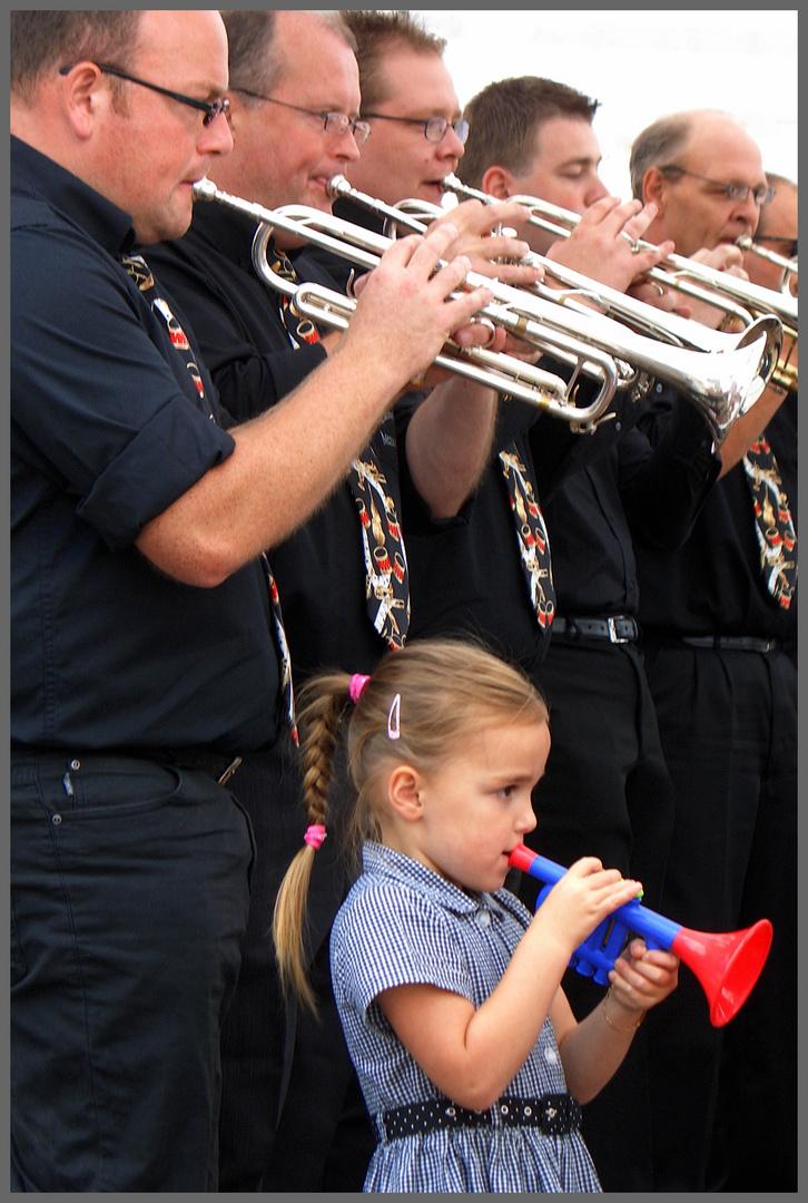 -Trompeten Girl-