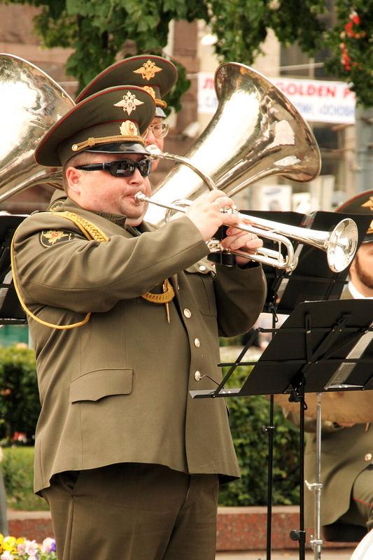 Trompeter in Moskau