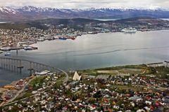 Tromso von oben
