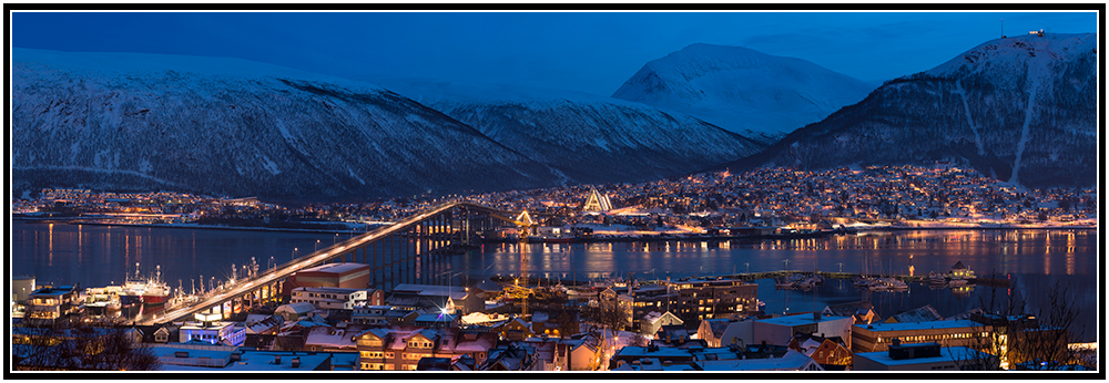 ~ Tromsoe at christmas eve ~