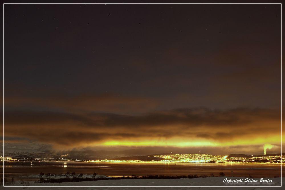 Tromsö bei Nacht 2