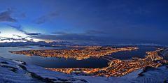 Tromsö by night