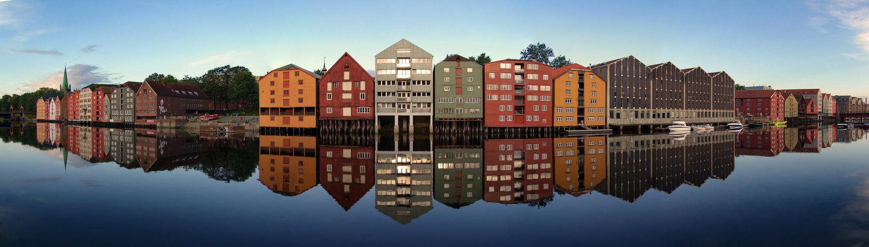 Trondheim - die typischen Lagerhäuser