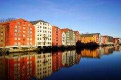 Trondheim-Speicherhäuser aus der Hansezeit