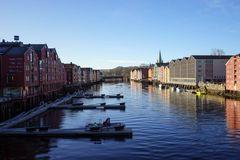 Trondheim-Speicherhäuser aus der Hansezeit_1