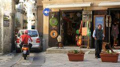 Tropea - Zufahrt zur Altstadt