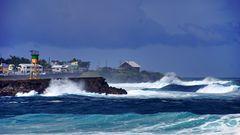 Tropensturm über La Reunion
