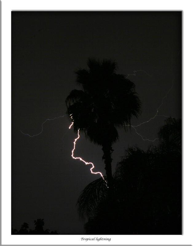Tropical lightning