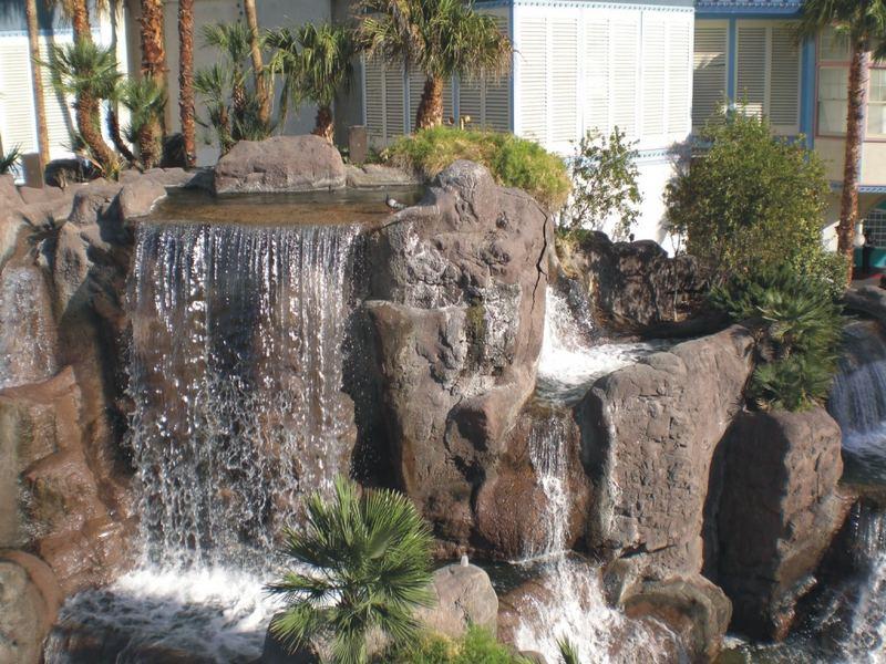 Tropicana Wasserfall
