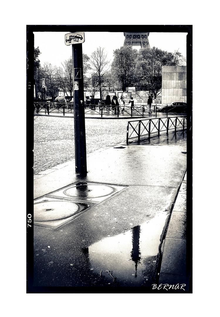 Trottoir de Paris