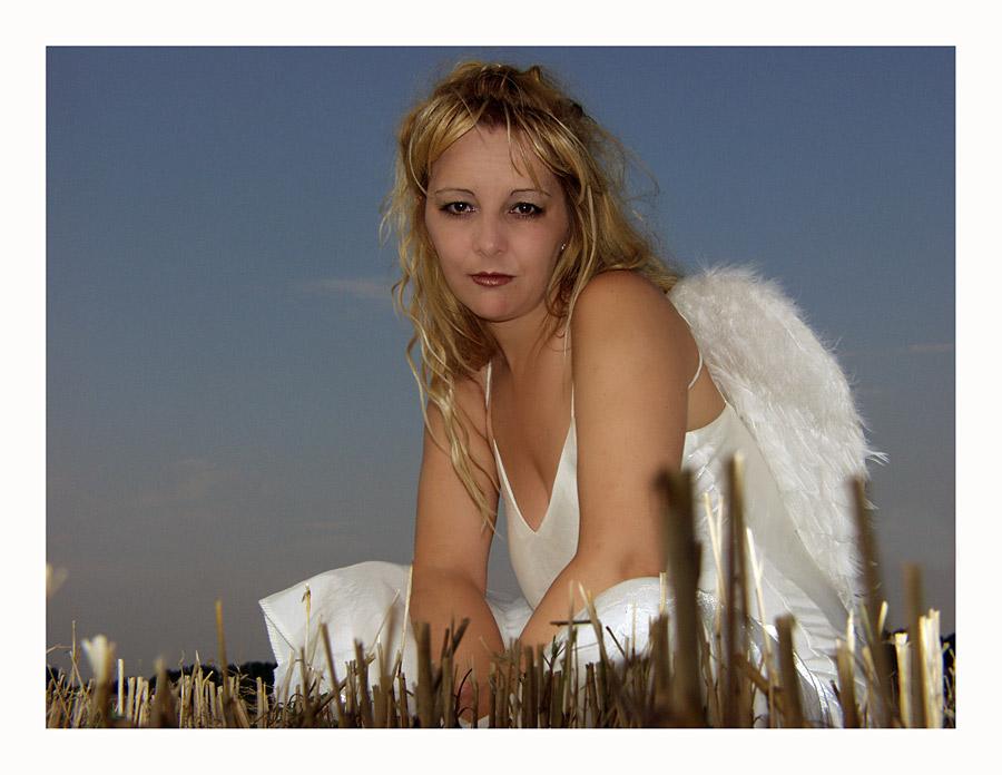 trotziger Engel