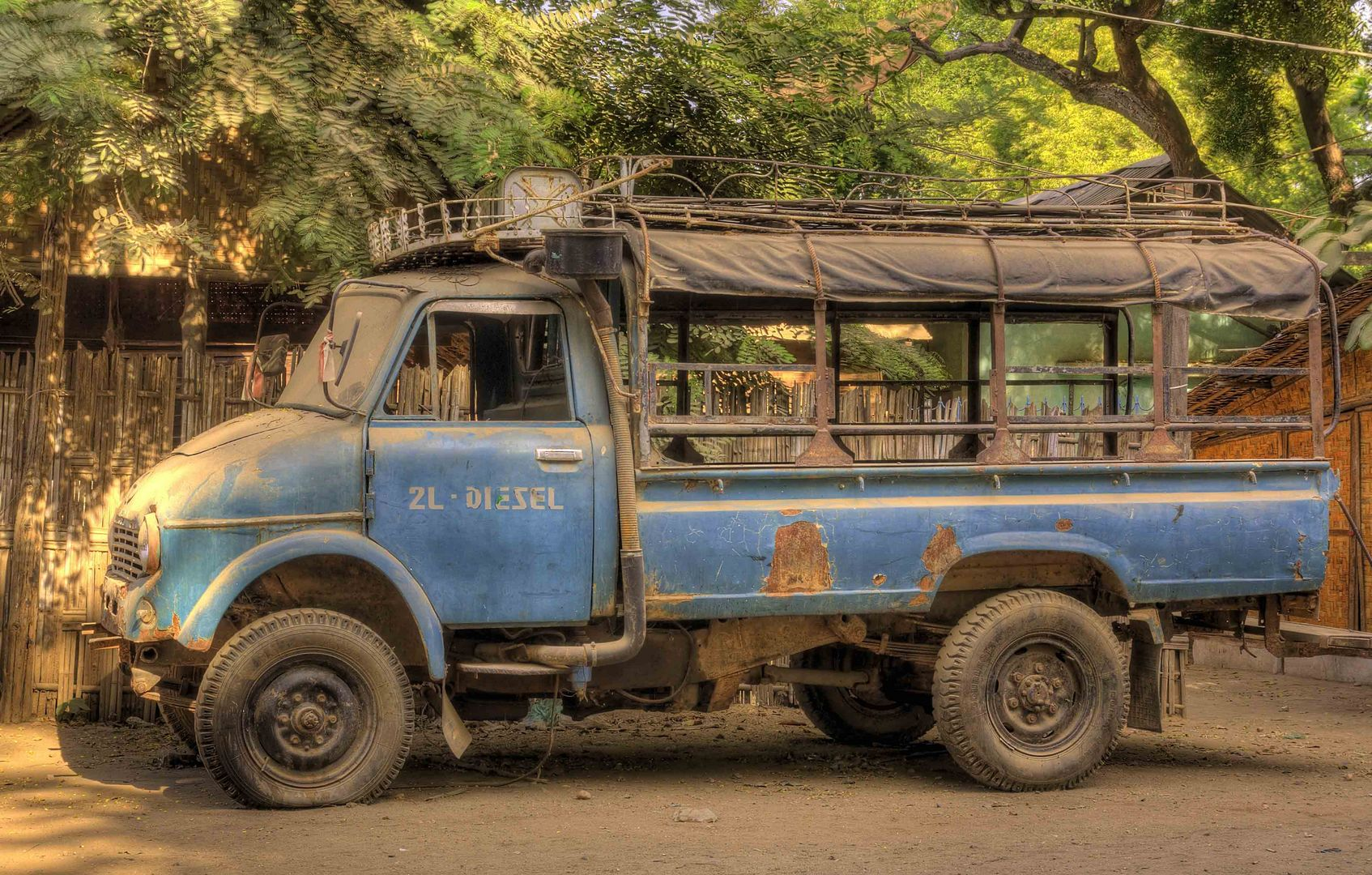 Truck HDR