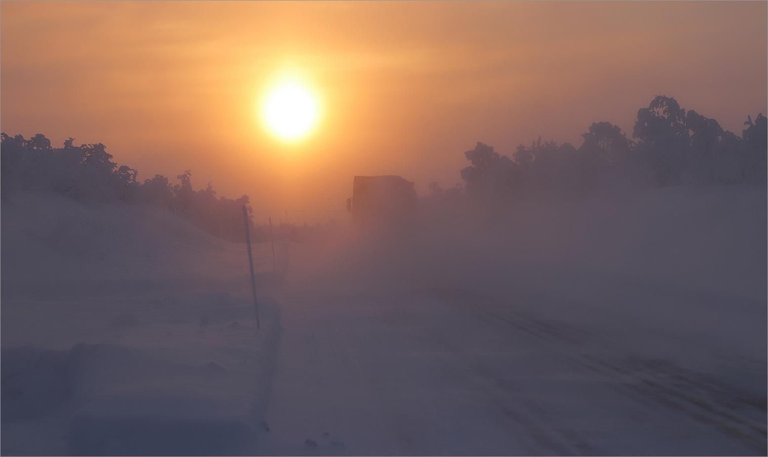 Truckerfeeling in Leppojärvi