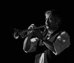 Trumpet player .............