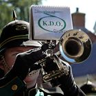 Trumpeter of marching band